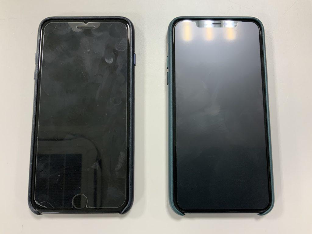 iPhone7とiPhone11