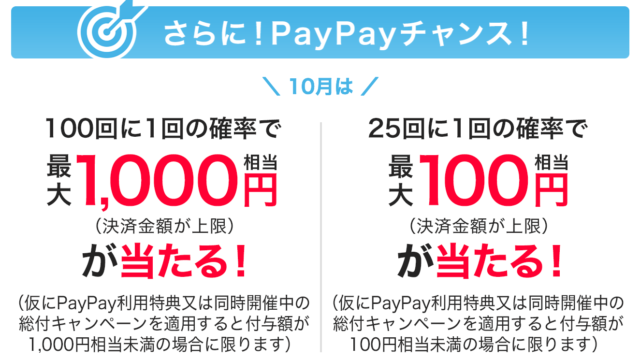 paypayチャンス201910