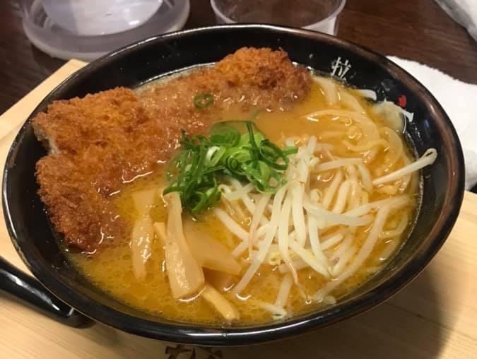 味噌カツラーメン