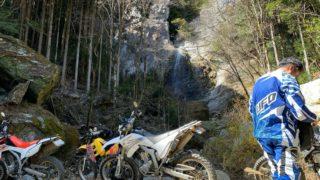 WR250Rと滝