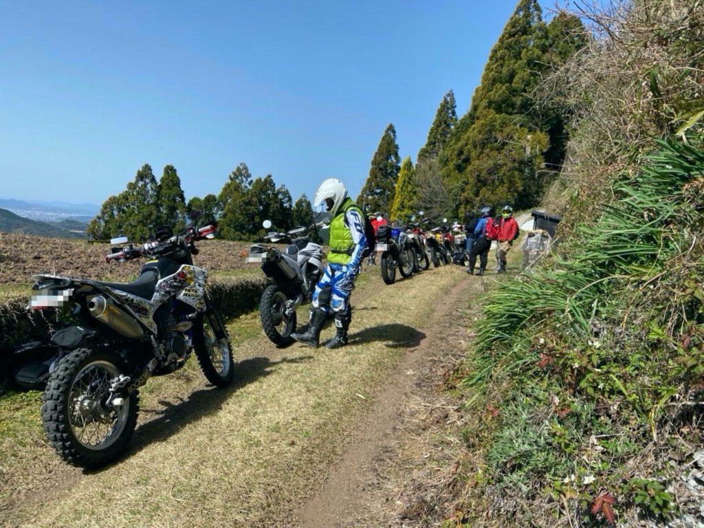 赤塚山ダート入り口